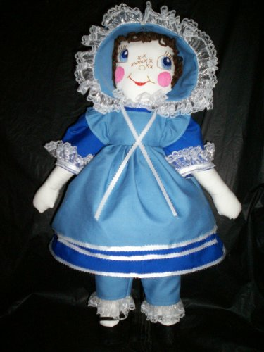 pioneer cloth doll 22 inches tall handmade
