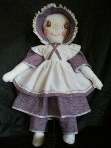 pioneer cloth doll 20 inches tall