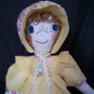 prairie baby doll one of a kind 22 inches tall handmade