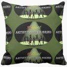 REGGAE Artist On Their Grind Grade A Cotton Throw Pillow 16x16