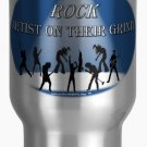 ROCK Artist On Their Grind 15 oz Travel/Commuter Mug
