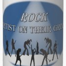 ROCK Artist On Their Grind Custom Blue & White 15 oz Mug