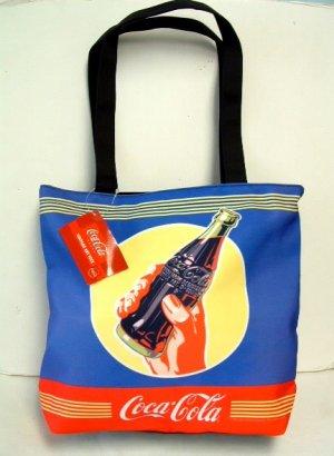 Coca-Cola Blue Tote Bag - New w/Tags