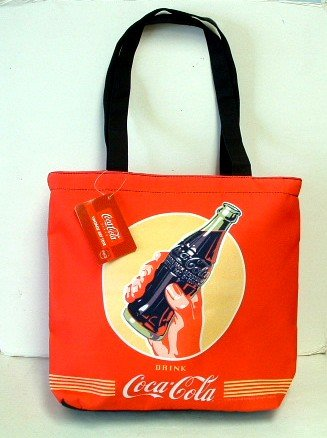 Coca-Cola Small / Red Tote Bag - New w/Tags
