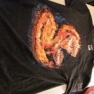 Men's Harley Davidson flaming cobra large T-shirt