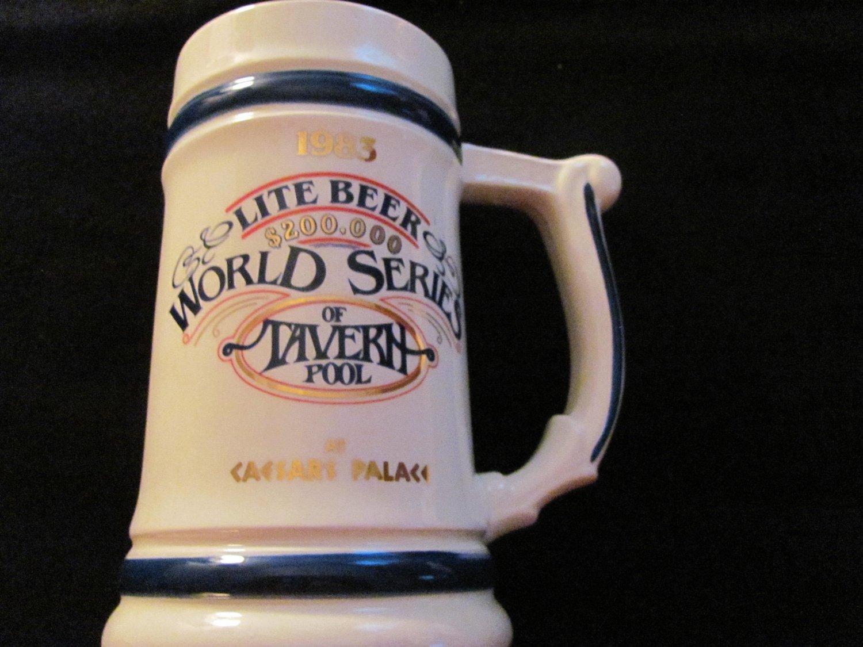 1983 Lite Beer World Series of Tavern Pool Mug