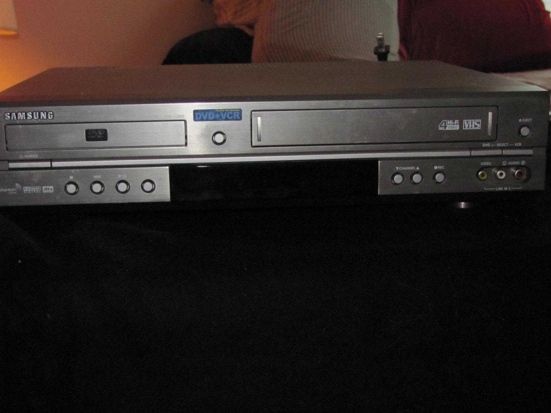 Samsung DVD-V2000 DVD VHS Combo
