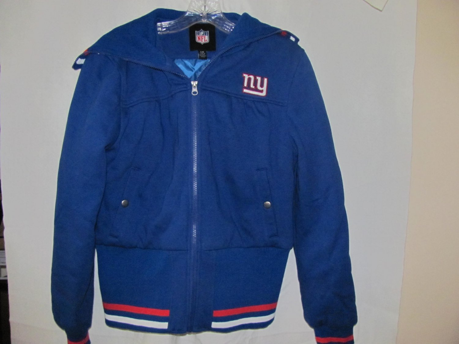NFL Womens Size Large New York Giants Jacket