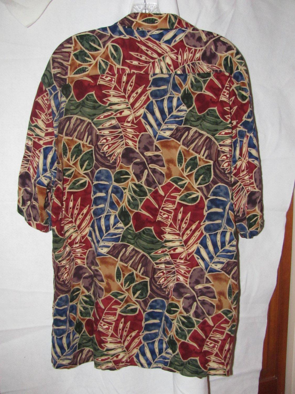 Vintage Pierre Cardin Mens Tropical shirt XL