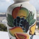 "Vintage Hand Painted Decorative Pottery Vase 9"" x 5"" Collectible Home Decor"