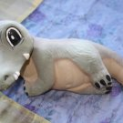 "Very Funny and Kind Resting Ceramic Crocodile 10"" Handmade Children Room Decor"