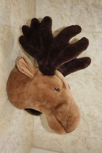 """Hunter's Trophy Soft Toy Elk's Head Beauty EN-71 Decor Wall Hanging Holland 16"""""""
