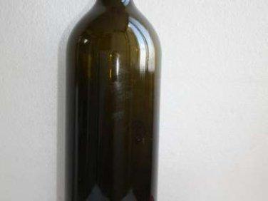 """Vintage RUFFINO Chianti Classico Display Wine Empty Glass Bottle 18"""" Collectible"""