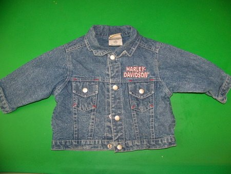 Harley Davidson Denim Jacket - 12m