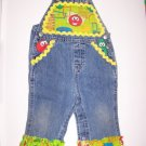 12 M Veggie Tales Custom made Overalls