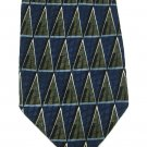 "Louis Roth Extra Long Necktie 65"" Big Tall Italian Silk Blue Black Green Contemporary Mod Mens Tie"