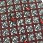 Tabasco Chili Pepper Tie Silk Hot Sauce Spicey Necktie Fun Novelty Cream Maroon Red 58