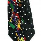 Looney Tunes Christmas Tie Necktie Mens Taz Bugs Sylvester Tweety Wile Coyote Daffy Duck 59