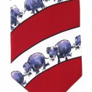 Elephant Necktie Republican Party Tie Politics Vote Support GOP Stars Patriotic Luckovich 57