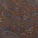 "Robert Talbott Vintage Necktie Mens Designer Silk Skinny 3"" Tie Brown Paisley Italy Ben Simons 56"
