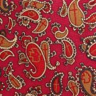 Religious Cross Necktie Silk Mens Tie Paisley Maroon Gold Peace Dove Christian God Faith Long 59.5