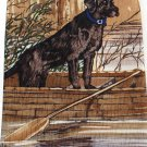 Black Lab Necktie Silk Labrador Retriever Wood Canoe Hunting Fishing Outdoors Endangered Species