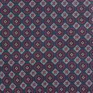 Liberty Of London Italian Silk Necktie Narrow Tie Aqua Teal Fuchsia Diamond Circle Fowlard 58