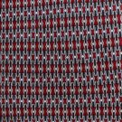 Daniel De Fasson Silk Necktie Extra Long 60 Mens Tie Classic Executive Maroon Black Silver