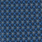 Oleg Cassini Italian Silk Necktie Mens Tie Royal Blue Gray Black Diamond 58