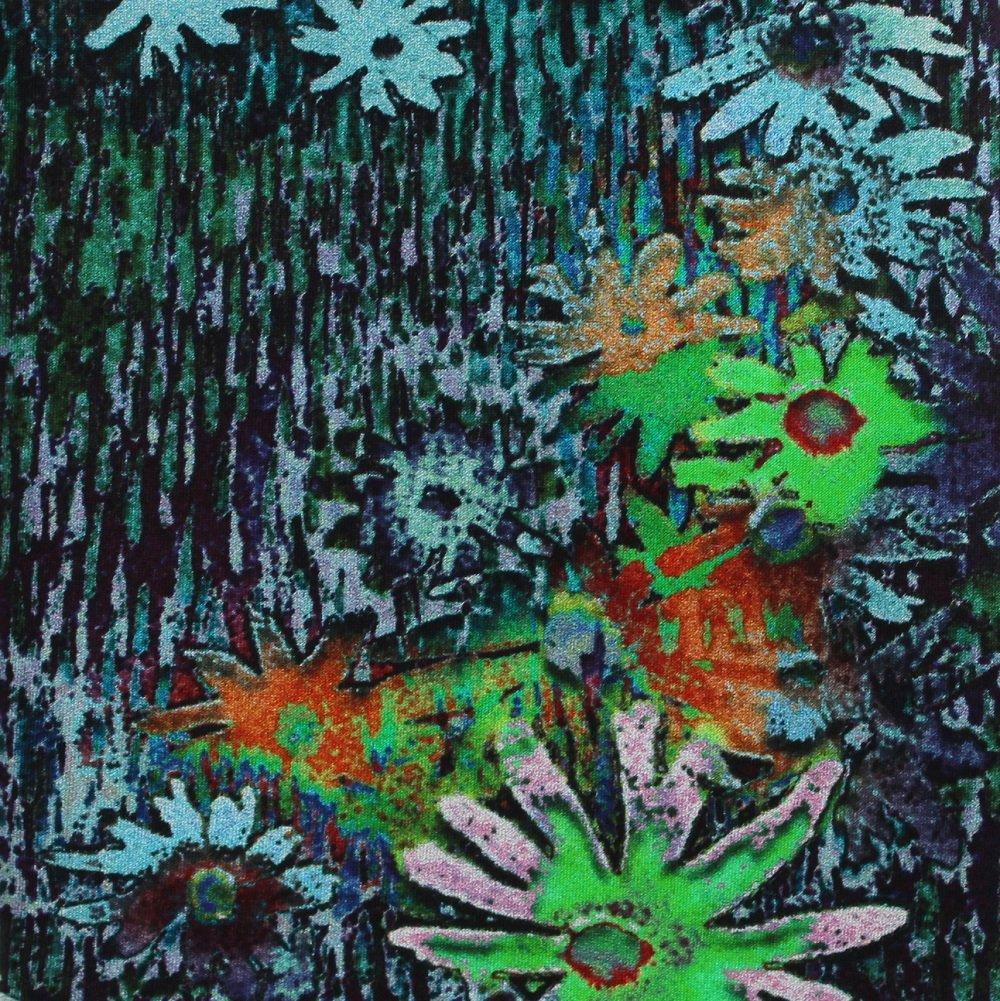 Libero Silk Necktie Mens Tie Watercolor Abstract Flower Art Fashion Digitized Printing 58