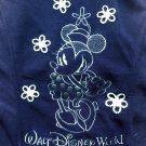 Medium Disney World Minnie Mouse Women's Fleece Vest