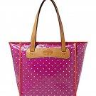 Fossil Keyper Shopper Magenta Tote Handbag ZB5608508
