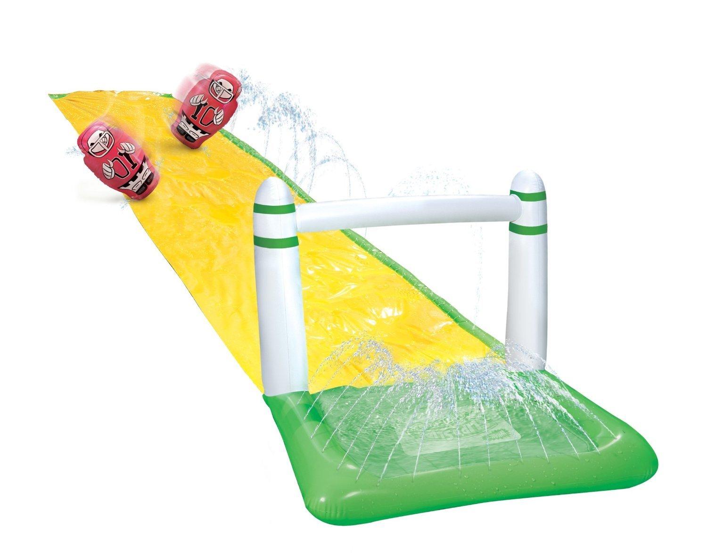 16 Feet Wham-o Slip N Water Slide Sports Football Touchdown Splash Ages 5-12