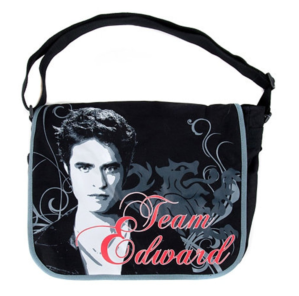 Twilight Eclipse Team Edward With Lion Messenger School Bag