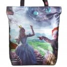 Disney Alice in Wonderland Off with His Head Novelty Collectible Tote Handbag