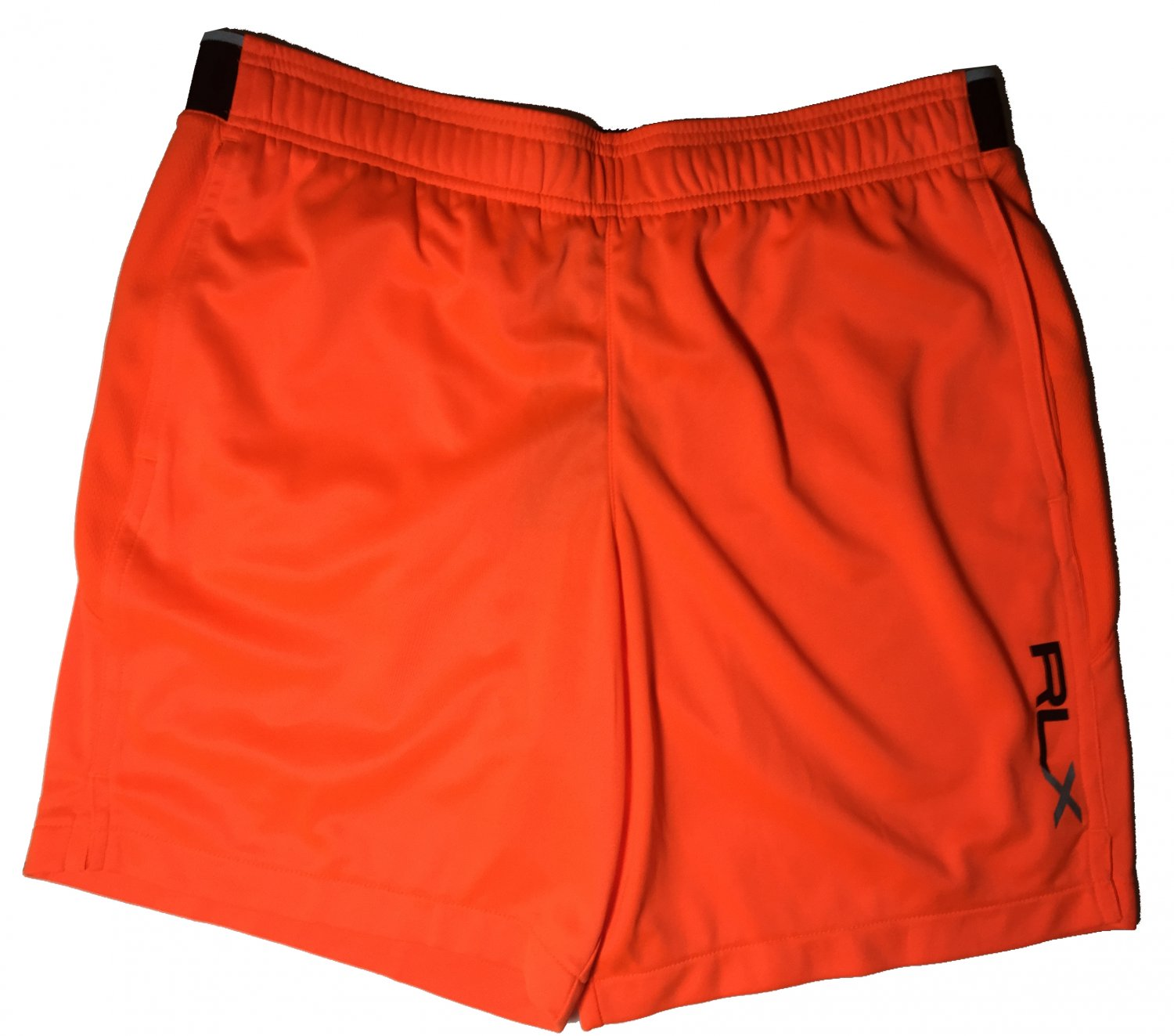 Men's M RLX Polo Ralph Lauren Orange Running City Tech Shorts