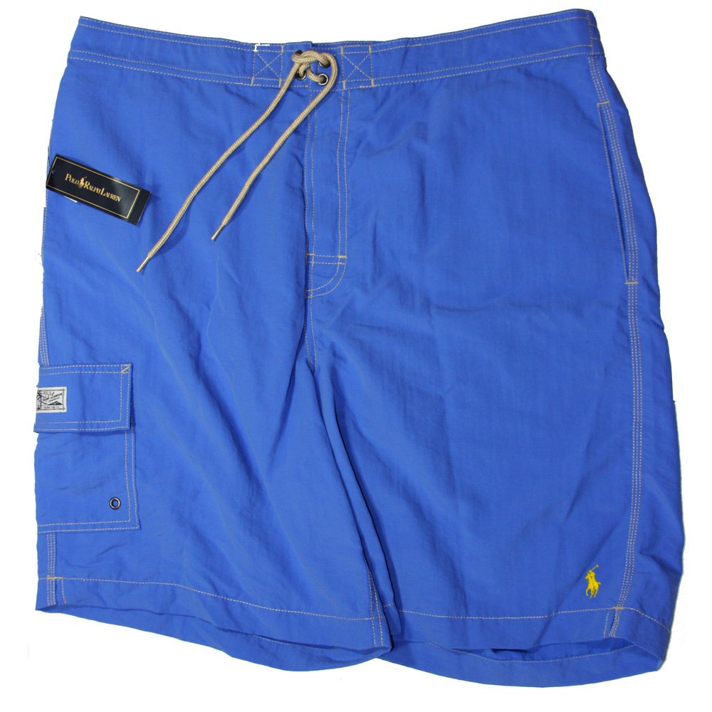 Polo Ralph Lauren Men's Board Shorts Swimwear Blue XL
