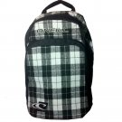 O'Neill Generator Black & White Plaid School Surf Travel Backpack