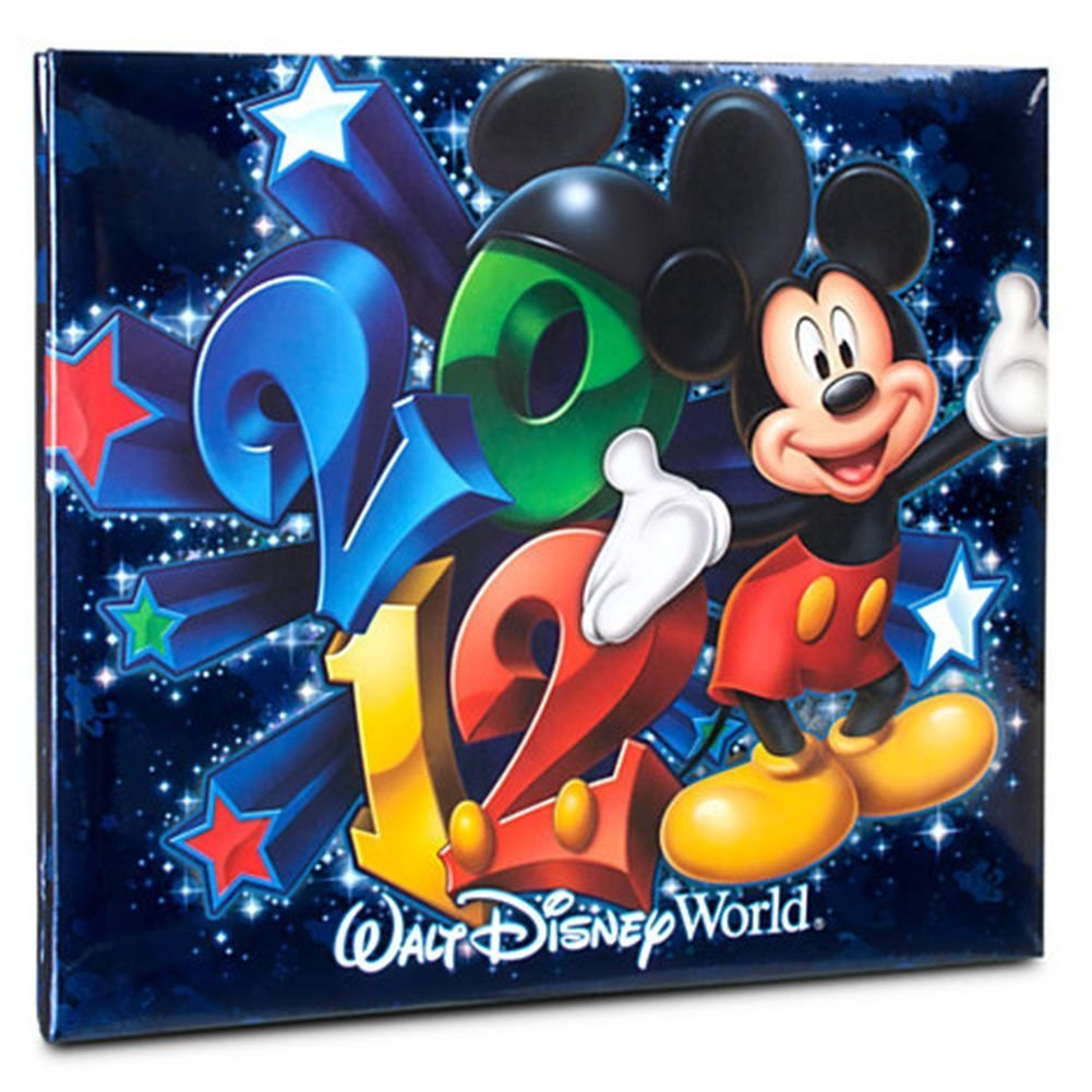 41Pc 2012 Walt Disney World Mickey Friends Small Scrapbook Kit Album
