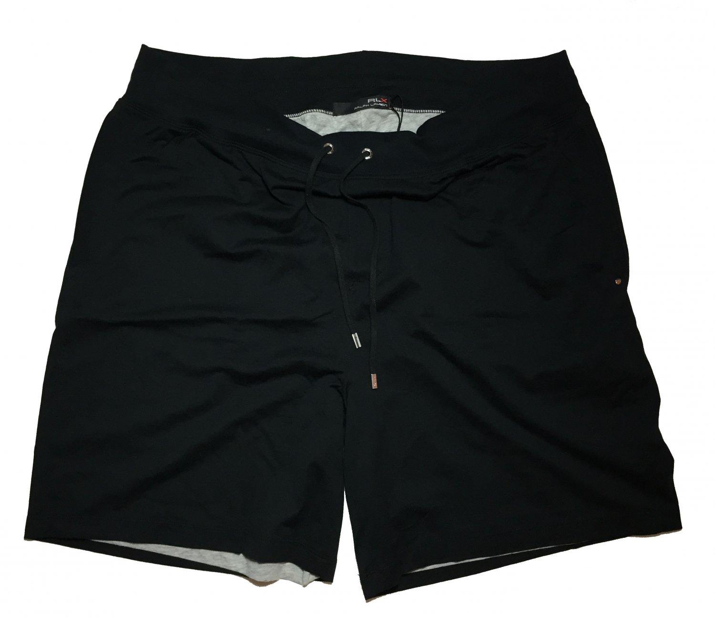 RLX Polo Ralph Lauren Men's XLarge Black Light 100% Pima Cotton Shorts