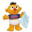 "10""H Playskool BABY Sniffles Sesame Street ERNIE Plush Doll Hot Toy Gift 18M+"