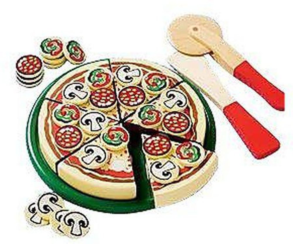 Details about  27 Pcs My First Kenmore 3-D Pizza Wooden Puzzle Set Gift Boys Girls Ages 3+