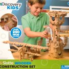 250 Pcs Discovery Kids SLOTTO WOODEN Plane Construction Set Gift Toy Ages 4+