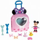 BIG TOY Disney Minnie Mouse Bow-Tique Fashion On the Go Roll On Case Girls 2+