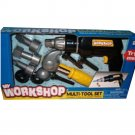 My Workshop Multi-Tool Set Power Hand Tools Builder Construction Toy Boy Ages 3+