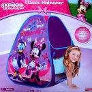 Disney Minnie Mouse Bowtique Classic Hideaway House PlayHut Tent Gift Girl 3+