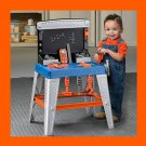 "BIG GIFT 32"" My Very Own TOOL BENCH Handyman Garage Toy Made USA Boys Ages 2+"