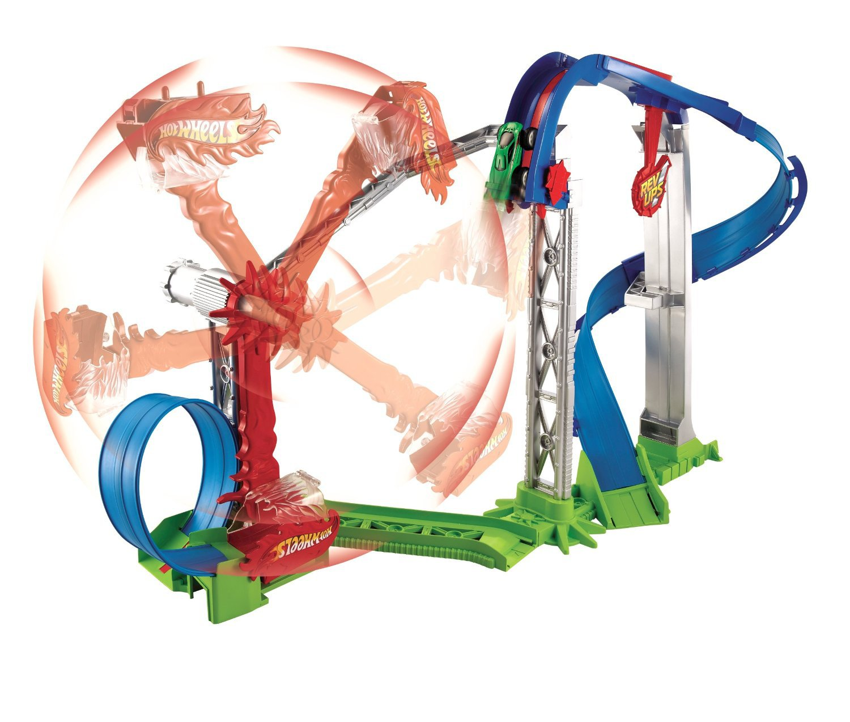 360° Gravity Hot Wheels Revolution Stunt Car Track Park Huge Toy Gift Boys 4+