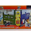 360° Action Matchbox Police Headquarters Track + Car Ages Gift Boys 3+
