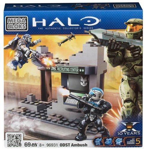 69 Pcs Celebrating 10 Years Mega Bloks Halo ODST Ambush Boys Gift Collector 8+